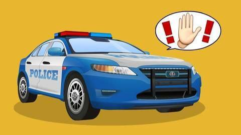 car cartoon for kids about illegal race of red and yellow race cars and police chasing them. Black Bedroom Furniture Sets. Home Design Ideas