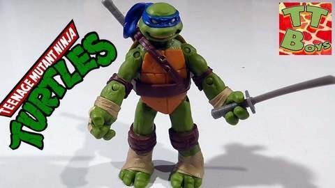 Видео распаковки игрушки Черепашка Ниндзя – Леонардо на ...