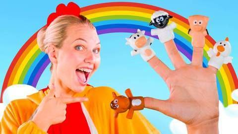 Finger Family Song For Kids With Funny Nursery Rhymes