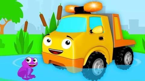 En Línea Caricaturas Para Niños De Carros Con El Carro De Carrera