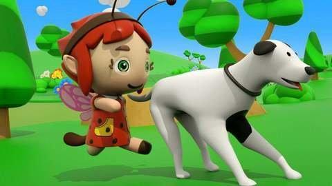 little fairies present bingo song for babies in cartoon for girls