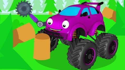 Watch The Free Online Car Cartoon For Kids About The